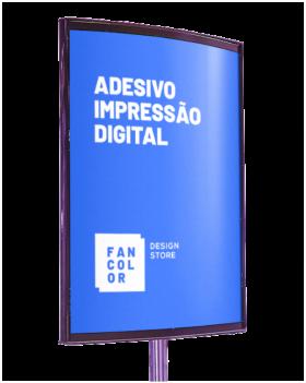 Adesivo Branco Impressão Digital  - Alto Desempenho   4x0 cores