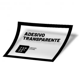 Adesivo Impressão Digital Transparente