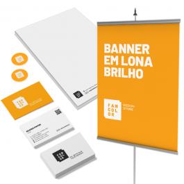 Combo 3 Cartões executivos + Etiquetas em papel adesivo + Envelopes + Blocos receituário    Conforme a especificação de cada item do combo.