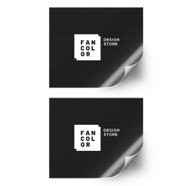 Etiqueta Adesiva impressão Laser Papel Adesivo / Vinil Adesivo Branco / Vinil Adesivo Transparente / Bopp Adesivo Branco 33x48cm mídia 4x0 cores