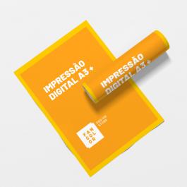 Impressão Digital A3 +  33x48cm 4x0 cores / 4x4 cores
