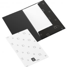 Pasta com Bolsa - Impressão Digital Laser  31,5x46cm 4x4 cores  Estampa