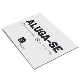 Placa Polionda Impressão UV 4x0 Cores Chapa Polionda  4x0 Fosco Corte Reto ou Especial * Formato máximo sem emenda na chapa 200cm x 130cm